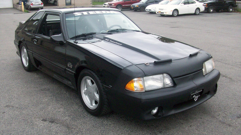 1993 Ford Mustang Steeda 302 CI, Automatic presented as lot T149 at St. Charles, IL 2011 - image7