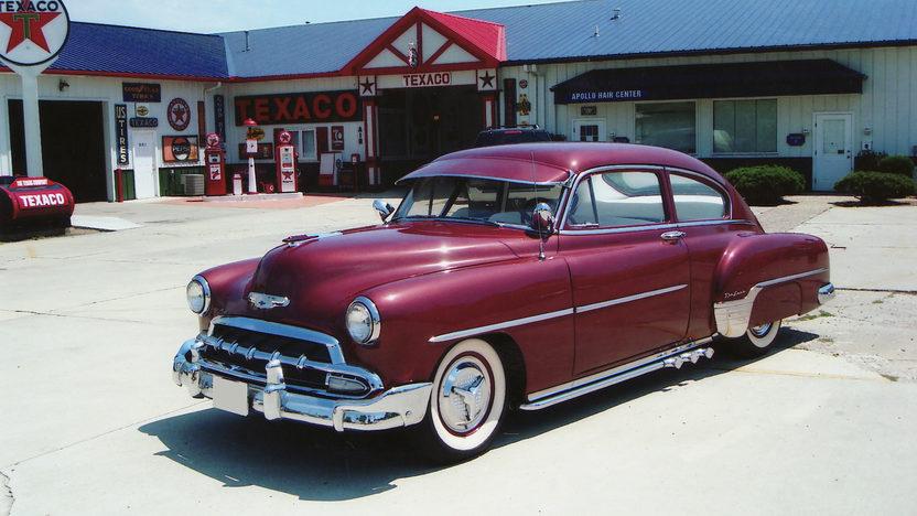 1952 chevrolet fleetline deluxe 2 door mecum st charles for 1952 chevy deluxe 2 door