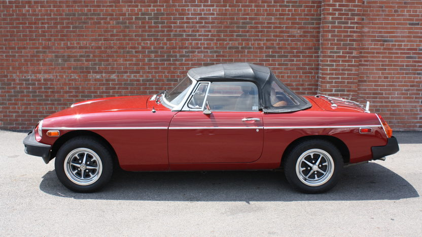 1980 MG B Roadster Manual presented as lot T155 at St. Charles, IL 2011 - image3