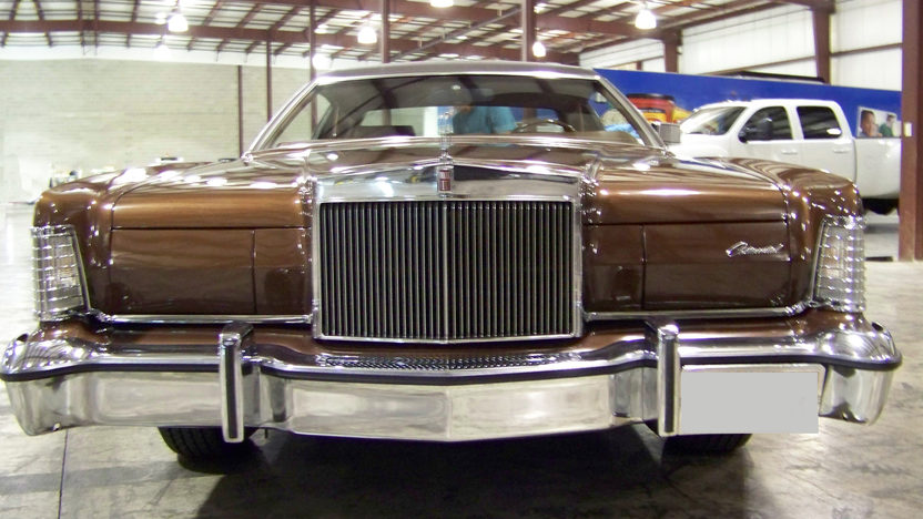 1974 Lincoln Mark IV presented as lot T161 at St. Charles, IL 2011 - image3