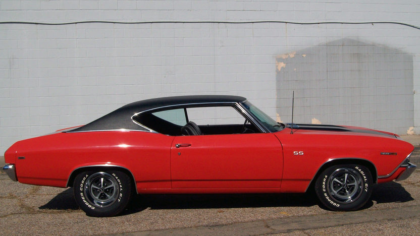 1969 Chevrolet Chevelle 350 CI presented as lot T163 at St. Charles, IL 2011 - image2