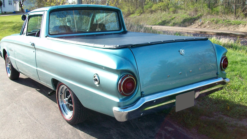 1961 Ford Ranchero 302 CI, Automatic presented as lot T164 at St. Charles, IL 2011 - image2