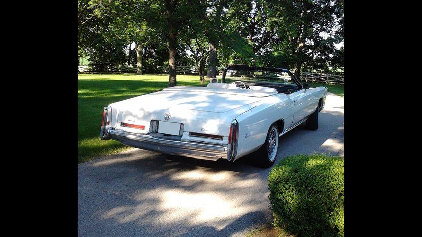 1976 Cadillac Eldorado Convertible presented as lot T170 at St. Charles, IL 2011 - image2