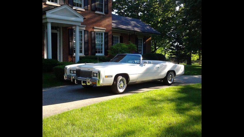 1976 Cadillac Eldorado Convertible presented as lot T170 at St. Charles, IL 2011 - image8
