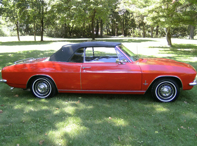 1965 Chevrolet Corvair Monza Convertible presented as lot T279 at St. Charles, IL 2011 - image2