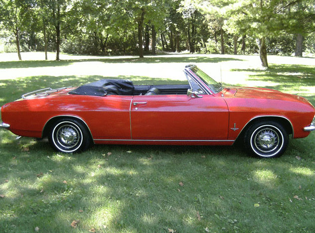 1965 Chevrolet Corvair Monza Convertible presented as lot T279 at St. Charles, IL 2011 - image3