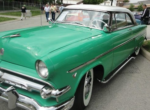 1954 Ford Crown Victoria 2-Door Hardtop presented as lot T280 at St. Charles, IL 2011 - image2