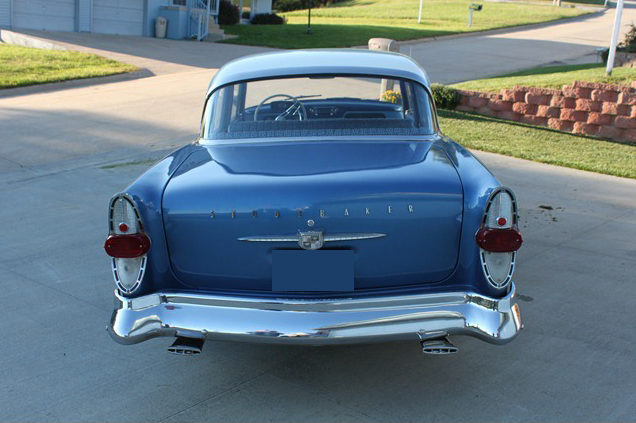 1957 Studebaker President Classic 4-Door 289/225 HP, 3-Speed presented as lot T282 at St. Charles, IL 2011 - image3