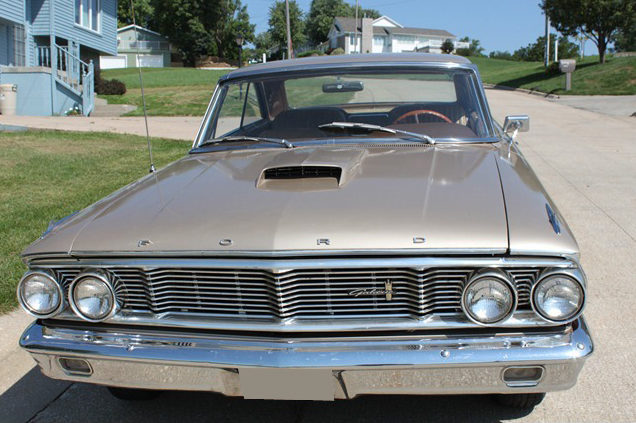 1964 Ford Galaxie 500 XL 2-Door Hardtop 390/320 HP, Automatic presented as lot T283 at St. Charles, IL 2011 - image2