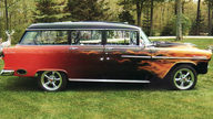 1955 Chevrolet Bel Air Station Wagon 502/502 HP, Automatic presented as lot T185 at St. Charles, IL 2011 - thumbail image12