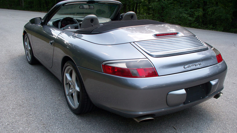 2002 Porsche 911 Convertible 3.6 L, Manual presented as lot T201 at St. Charles, IL 2011 - image3