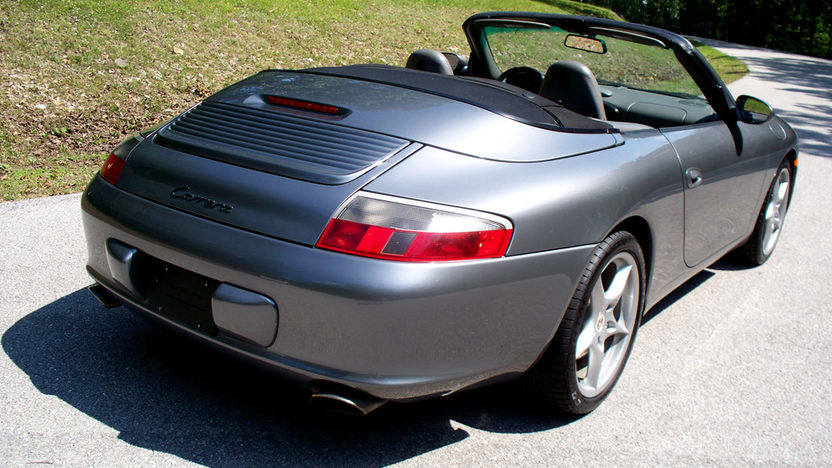 2002 Porsche 911 Convertible 3.6 L, Manual presented as lot T201 at St. Charles, IL 2011 - image4