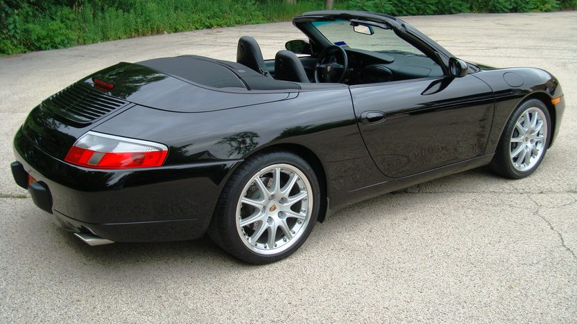 2001 Porsche 911 Carrera Convertible presented as lot T203 at St. Charles, IL 2011 - image2