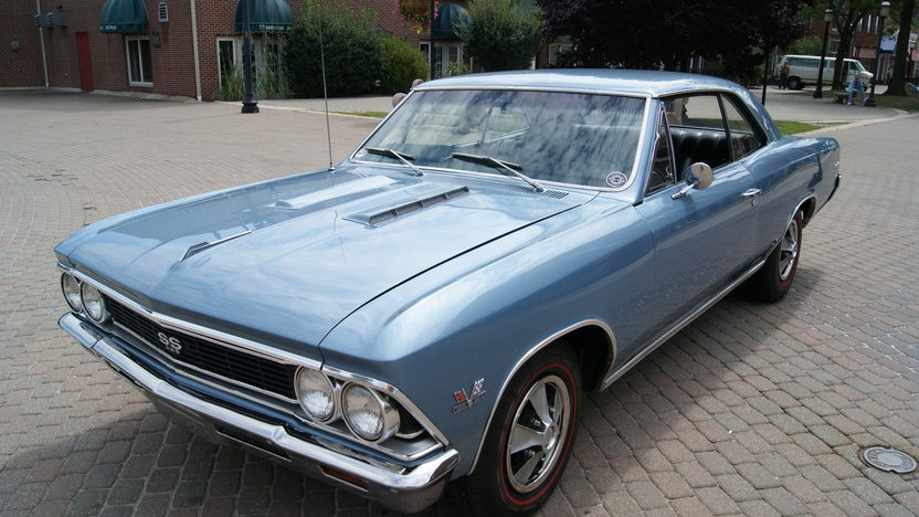 1966 Chevrolet Chevelle SS 396/360 HP, 4-Speed presented as lot T204 at St. Charles, IL 2011 - image2