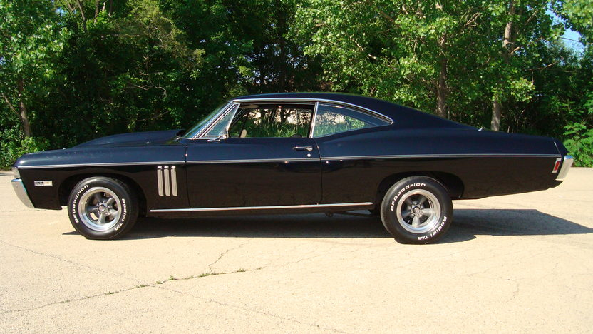 1968 Chevrolet Impala SS Replica presented as lot T208 at St. Charles, IL 2011 - image2