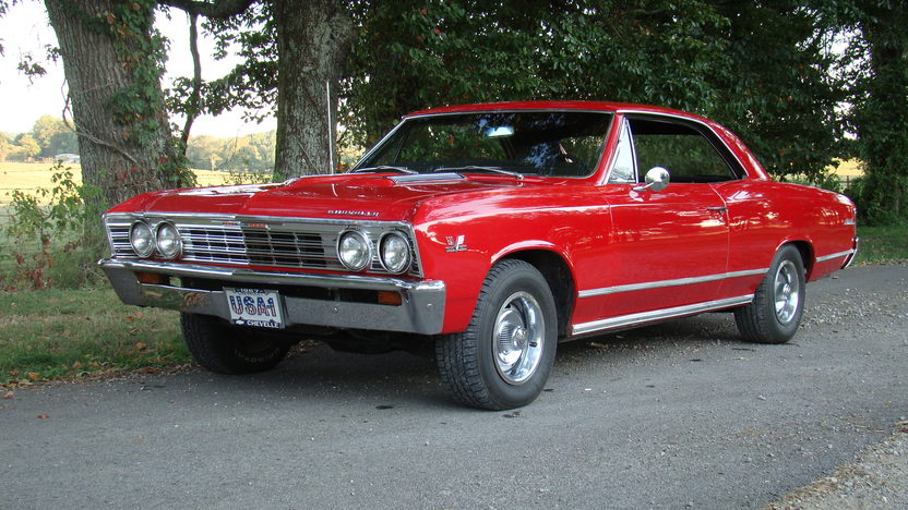 1967 Chevrolet Chevelle 396/375 HP, Automatic presented as lot T212 at St. Charles, IL 2011 - image2