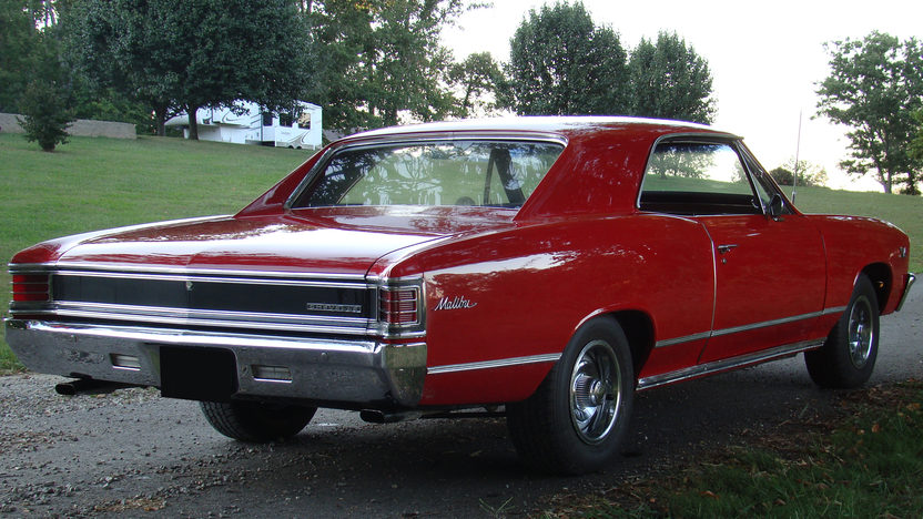1967 Chevrolet Chevelle 396/375 HP, Automatic presented as lot T212 at St. Charles, IL 2011 - image4