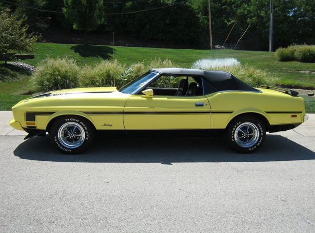 1973 Ford Mustang Convertible 351 CI, Automatic presented as lot T215 at St. Charles, IL 2011 - image2