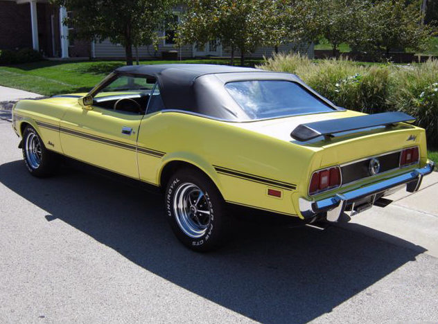 1973 Ford Mustang Convertible 351 CI, Automatic presented as lot T215 at St. Charles, IL 2011 - image3