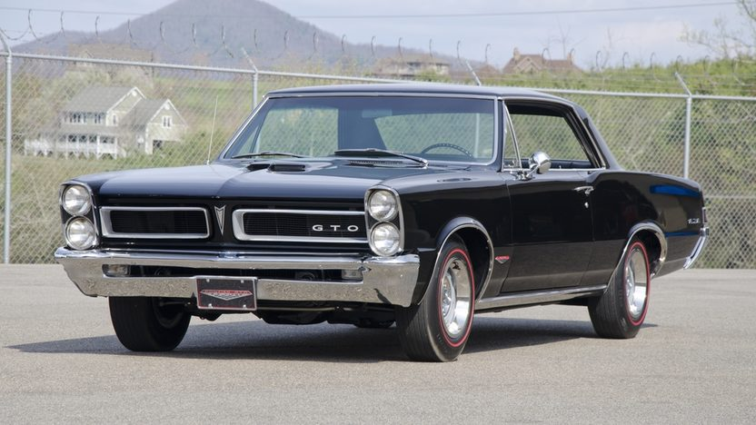 1965 Pontiac GTO 2-Door Hardtop 389 CI, 4-Speed presented as lot T219 at St. Charles, IL 2011 - image2
