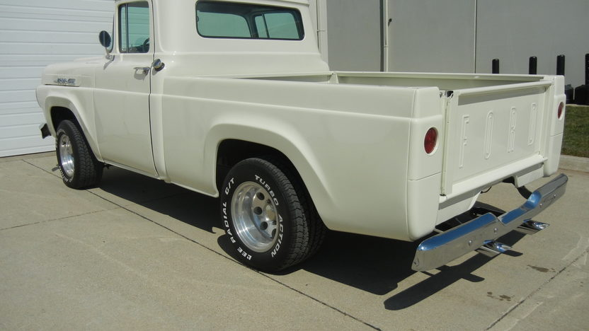 1960 Ford F100 Pickup 351 CI, Automatic presented as lot T247 at St. Charles, IL 2011 - image2