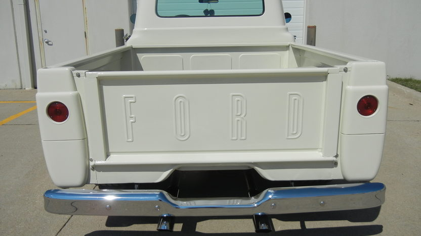 1960 Ford F100 Pickup 351 CI, Automatic presented as lot T247 at St. Charles, IL 2011 - image3