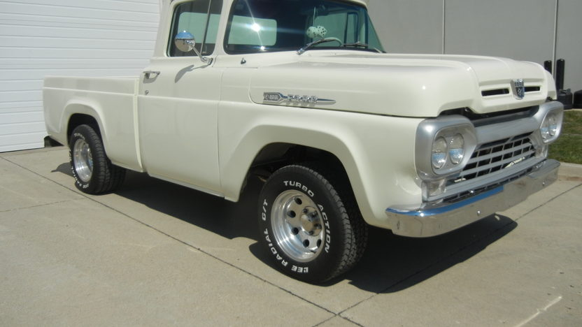 1960 Ford F100 Pickup 351 CI, Automatic presented as lot T247 at St. Charles, IL 2011 - image8