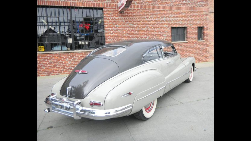 1947 Buick Roadmaster Sedanette presented as lot T249 at St. Charles, IL 2011 - image2