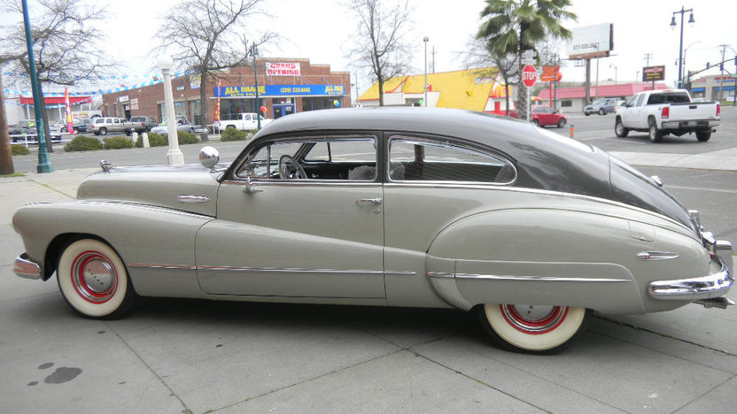 1947 Buick Roadmaster Sedanette presented as lot T249 at St. Charles, IL 2011 - image3