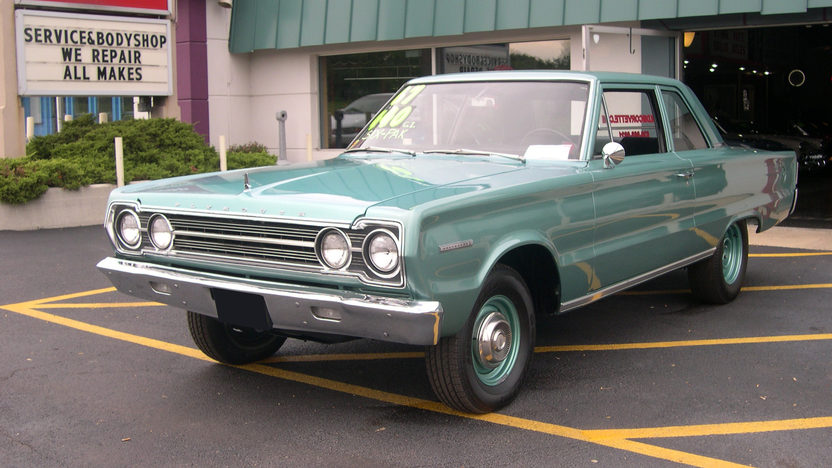 1967 Plymouth Belvedere I Coupe 440 CI, Automatic presented as lot T267 at St. Charles, IL 2011 - image8