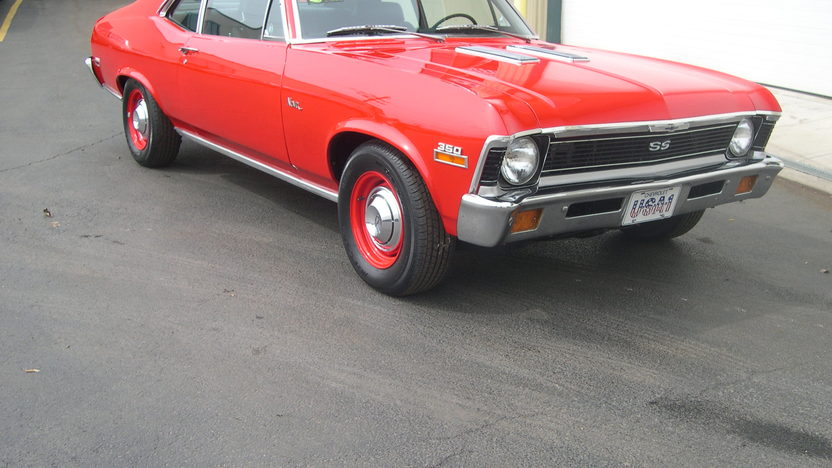 1971 Chevrolet Nova SS Coupe 350 CI, Automatic presented as lot T269 at St. Charles, IL 2011 - image3
