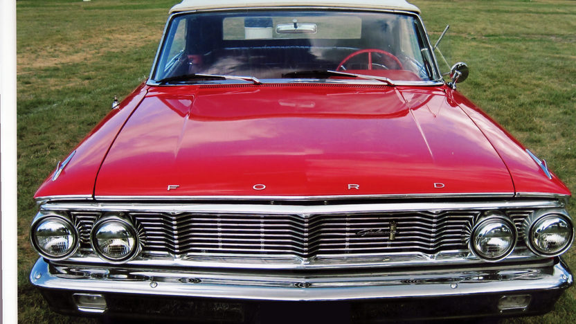 1964 Ford Galaxie 500 Convertible 289 CI, Automatic presented as lot T271 at St. Charles, IL 2011 - image2