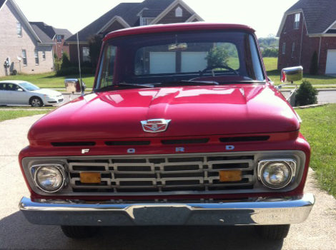 1964 Ford F100 Pickup 351 CI, Automatic presented as lot T273 at St. Charles, IL 2011 - image2