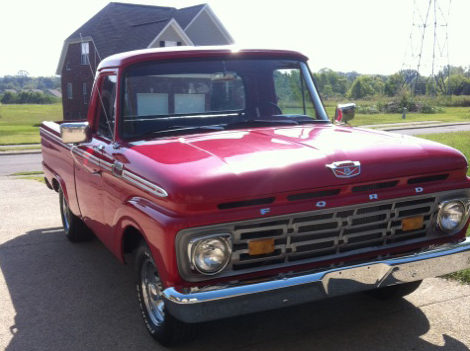 1964 Ford F100 Pickup 351 CI, Automatic presented as lot T273 at St. Charles, IL 2011 - image3