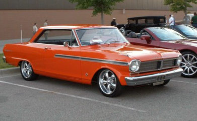 1963 Pontiac Acadian Beaumont Sport Deluxe 350/375 HP, Automatic presented as lot F2 at St. Charles, IL 2011 - image2