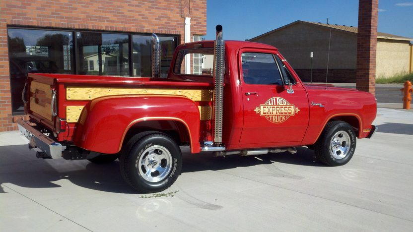1979 Dodge Little Red Express Pickup presented as lot F261 at St. Charles, IL 2011 - image2
