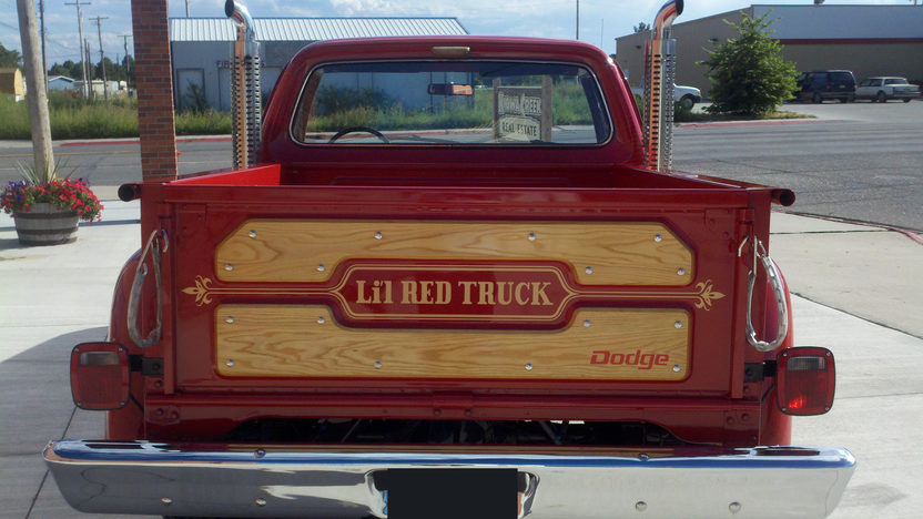1979 Dodge Little Red Express Pickup presented as lot F261 at St. Charles, IL 2011 - image3