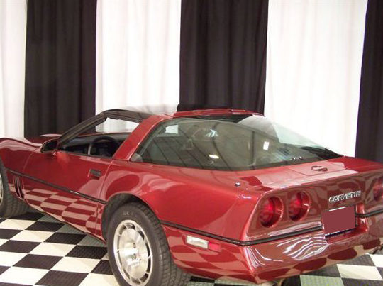 1986 Chevrolet Corvette presented as lot F7 at St. Charles, IL 2011 - image3
