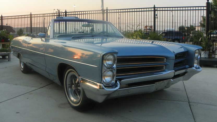 1966 Pontiac Catalina Convertible 389/290 HP, Automatic presented as lot F10 at St. Charles, IL 2011 - image2