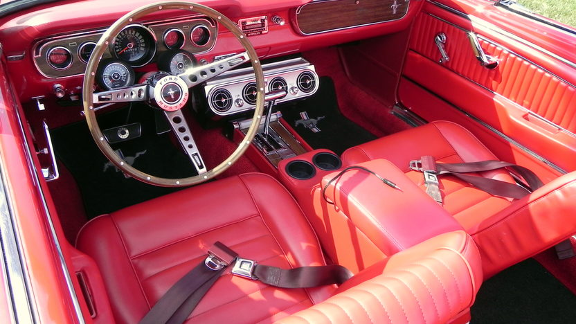 1965 Ford Mustang Convertible 289/225 HP, Automatic presented as lot F20 at St. Charles, IL 2011 - image5