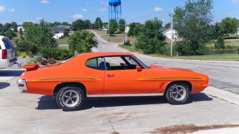 1972 Pontiac Lemans GTO Judge Replica 400 CI, 4-Speed presented as lot F23 at St. Charles, IL 2011 - image2