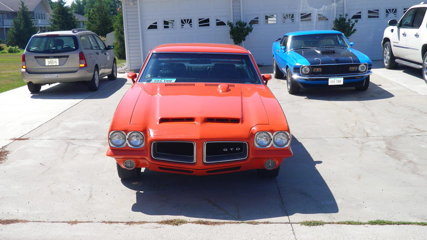 1972 Pontiac Lemans GTO Judge Replica 400 CI, 4-Speed presented as lot F23 at St. Charles, IL 2011 - image3