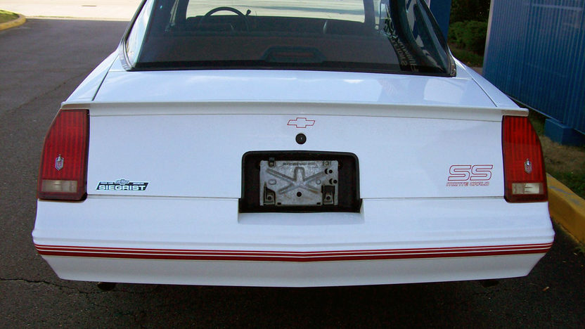 1987 Chevrolet Monte Carlo SS Aerocoupe presented as lot F28 at St. Charles, IL 2011 - image2