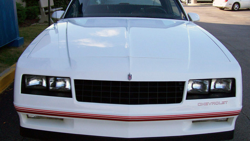 1987 Chevrolet Monte Carlo SS Aerocoupe presented as lot F28 at St. Charles, IL 2011 - image3