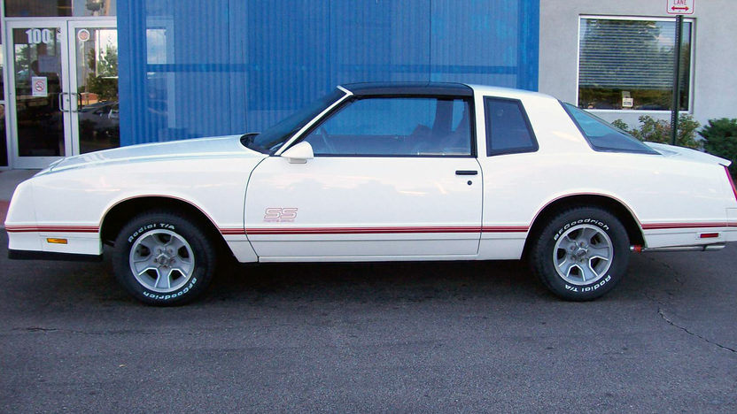 1987 Chevrolet Monte Carlo SS Aerocoupe presented as lot F28 at St. Charles, IL 2011 - image4