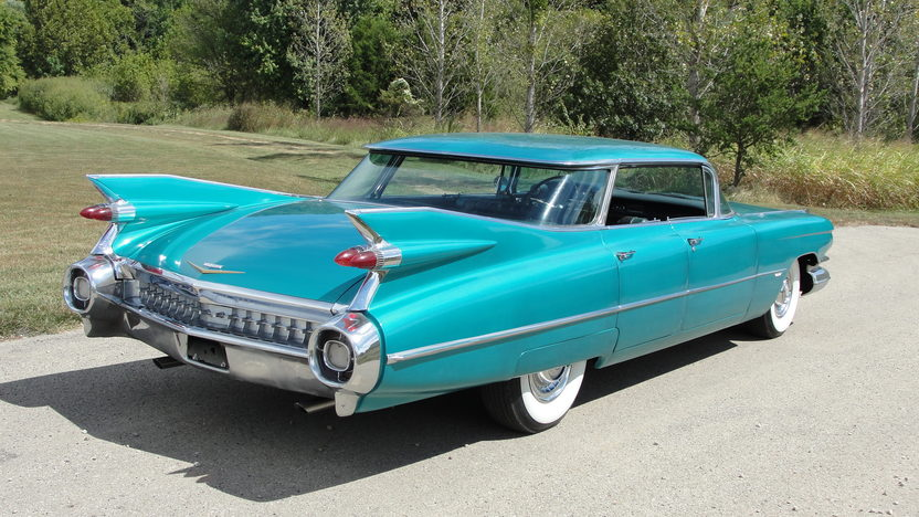 1959 Cadillac Flat Top Sedan 390/325 HP, Automatic presented as lot F32 at St. Charles, IL 2011 - image3