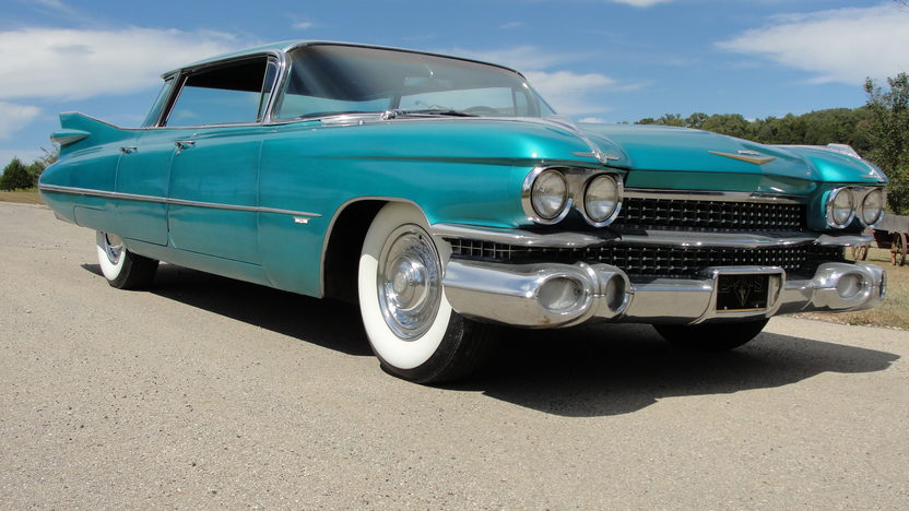 1959 Cadillac Flat Top Sedan 390/325 HP, Automatic presented as lot F32 at St. Charles, IL 2011 - image4