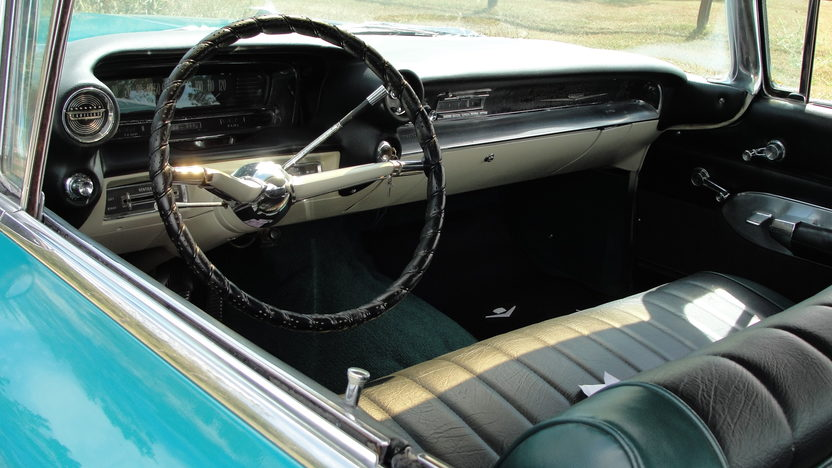 1959 Cadillac Flat Top Sedan 390/325 HP, Automatic presented as lot F32 at St. Charles, IL 2011 - image5
