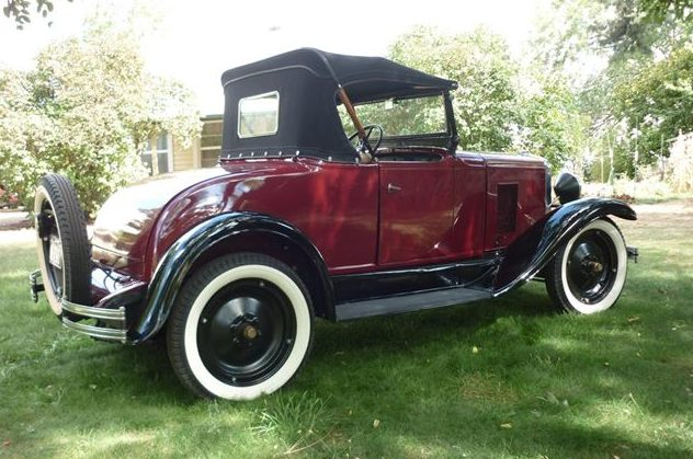 1929 Chevrolet  Roadster 6 Cyl, 3-Speed presented as lot F39 at St. Charles, IL 2011 - image2
