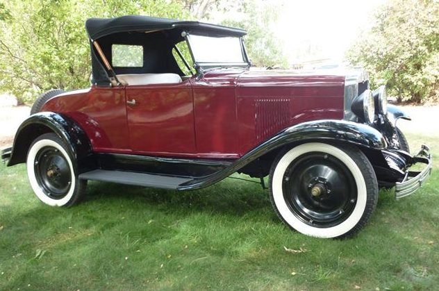 1929 Chevrolet  Roadster 6 Cyl, 3-Speed presented as lot F39 at St. Charles, IL 2011 - image5